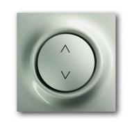 6430-0-0177 (6430-79) BJE Impuls Шампань Накладка выключателя Буш-Жалюзиконтроль (мех 6411, 6402)