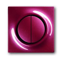 6599-0-2935 (6545-777) BJE Impuls Бордо Накладка двухканального нажимного светорегулятора