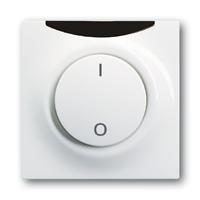 6020-0-1224 (6020-0-0952) (6067-74-101) BJE Impuls Бел Накладка выключателя с ДУ