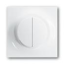 6599-0-2903 (6545-74) BJE Impuls Бел Накладка двухканального нажимного светорегулятора
