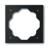 1754-0-4424 (1721-775) BJE Impuls Черный бархат Рамка 1-ая