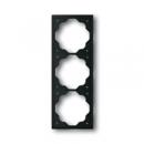 1754-0-4426 (1723-775) BJE Impuls Черный бархат Рамка 3-ая