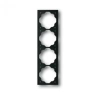 1754-0-4427 (1724-775) BJE Impuls Черный бархат Рамка 4-ая