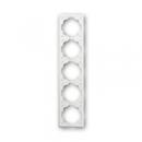 1754-0-4436 (1725-774) BJE Impuls Белый бархат Рамка 5-ая