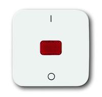 1731-0-0918 (2508-214) BJE Reflex Клавиша с красной линзой и маркировкой 0-I для контрольного выключателя