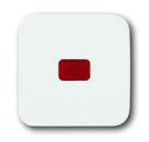 1731-0-1995 (1731-0-0900) BJE Reflex Клавиша 1-ая с красной линзой для контрольного выключателя