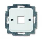1753-0-3833 (2561-214) BJE Reflex Корпус 1-ой ТЛФ и комп розетки прямой (мех 210, 211)