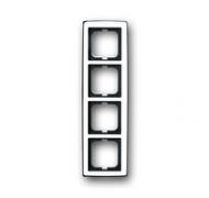 1754-0-4329 (1724-80G) BJE Solo Глянцевый Хром Рамка 4-ая