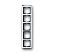 1754-0-4330 (1725-80G) BJE Solo Глянцевый Хром Рамка 5-ая
