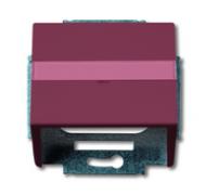 1724-0-2770 (1758-87) BJE Solo/Future Красный Накладка с суппортом для коммуникационных разъёмов