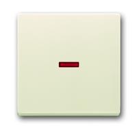 1751-0-2813 (1789-82) BJE Solo/Future Крем Клавиша 1-ая с красной линзой