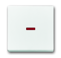 1751-0-3091 (1751-0-2814) BJE Solo/Future Бел Клавиша 1-ая с красной линзой