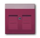1710-0-3230 (1800-87) BJE Solo/Future Красный Накладка 2-ой ТЛФ/комп розетки для суппортов 1810-1816