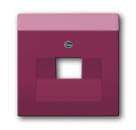1710-0-3219 (1803-87) BJE Solo/Future Красный Накладка 1-й ТЛФ и комп розетки наклонной (мех 213/16)