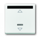 6020-0-1334 (6066-84) BJE Solo/Future Бел Накладка светорегулятора с ДУ