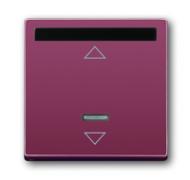 6020-0-1340 (6066-87) BJE Solo/Future Красный Накладка светорегулятора с ДУ