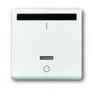 6020-0-1335 (6067-84) BJE Solo/Future Бел Накладка выключателя с ДУ