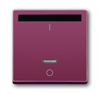 6020-0-1341 (6067-87) BJE Solo/Future Красный Накладка выключателя с ДУ