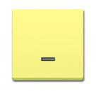 6599-0-2938 (6543-815-101) BJE Solo/Future Желтый Сахара Накладка светорегулятора нажимного