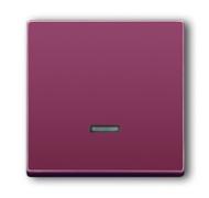 6599-0-2843 (6543-87-101) BJE Solo/Future Красный Накладка светорегулятора псевдосенсорного