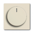 6599-0-2951 BJE Solo/Future Крем Накладка для поворотного светорегулятора с ручкой и лампой