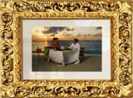Багет для ТВ зеркала Mirror Media