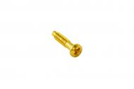 В-912-31 винт(розетка,розетка RJ 45)цвет золото
