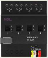 HDL-MR0416.431 DIN реле, 4-канальное, 16A на канал
