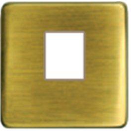 Бронза-бежевый Накладка розетки компьютерной PJ-45 арт. FD04317PB-A