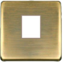 Matt patina-бежевый Накладка розетки компьютерной PJ-45 арт. FD04317PM-А