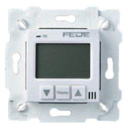 Белый Терморегулятор Цифровой. 16A