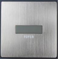 HDL-MPH101.48  1-клавишная Smart панель серии iElegance, сталь