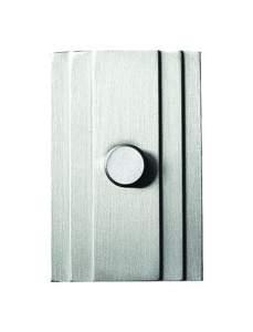 70x46x17 мм Дверной звонок на 12 В Никель шлифованный