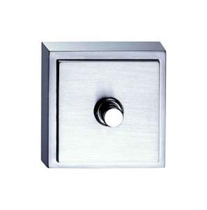 48x48x17 мм Звонок. 1 кнопка на 12 В Светлый хром