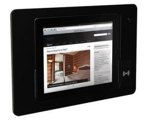 iRoom iDock Alu KeyCard LBA-TR-POE черный (ландшафт) для iPad2/3/4