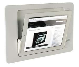 iRoom iDock Alu KeyCard LWA-TR белый (ландшафт) для iPad2/3/4