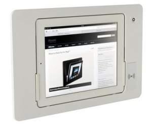 iRoom iDock Alu KeyCard LWA-TR-POE белый (ландшафт) для iPad2/3/4