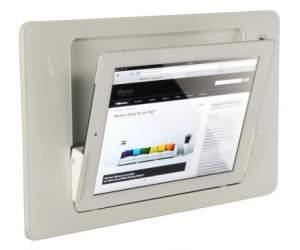 iRoom iDock Alu LWA белый (ландшафт) для iPad2/3/4