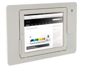 iRoom iDock Alu TouchCode LWA-Code-POE белый (ландшафт) для iPad2/3/4