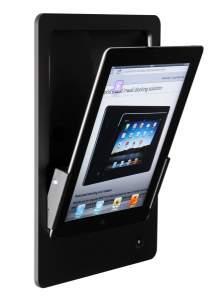iRoom iDock Alu PBA черный (портрет) для iPad2/3/4