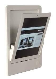 iRoom iDock Alu PWA-POE белый (портрет) для iPad2/3/4