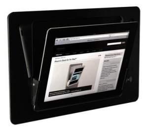 iRoom iDock Glass KeyCard LBG-TR черный (ландшафт) для iPad2/3/4