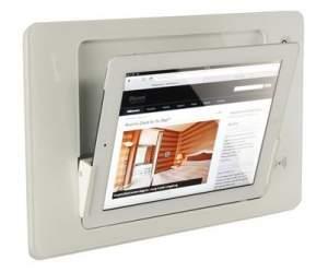 iRoom iDock Glass KeyCard LWG-TR белый (ландшафт) для iPad2/3/4
