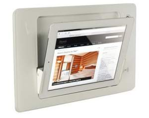 iRoom iDock Glass KeyCard LWG-TR-POE белый (ландшафт) для iPad2/3/4