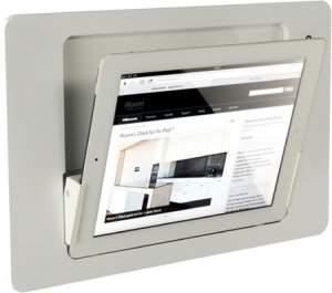 iRoom iDock Glass LWG-POE белый (ландшафт) для iPad2/3/4
