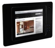 iRoom iDock Glass TouchCode LBG-Code-POE черный (ландшафт) для iPad2/3/4