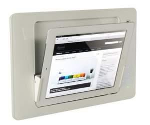 iRoom iDock Glass TouchCode LWG-Code белый (ландшафт) для iPad2/3/4