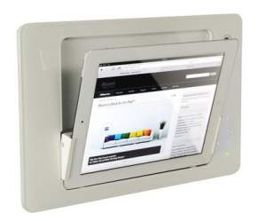 iRoom iDock Glass TouchCode LWG-Code белый (ландшафт) для iPad2/3/4