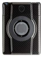 LaunchPort STRUT Black Carbon Fiber Finish Case for iPad 2/3