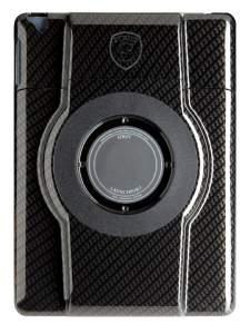 LaunchPort STRUT Black Carbon Fiber Finish Case for iPad 2/3